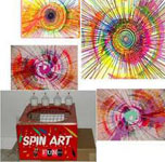 Spin Art from Oliver Entertainment and Caterting serving Northern Virginia, Washington DC and Maryland