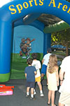 Speed Pitch inflatable amusement game from Oliver Entertainment and Caterting serving Northern Virginia, Washington DC and Maryland